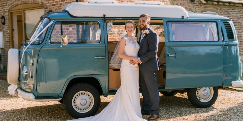VW Campervan Wedding Hire Kent