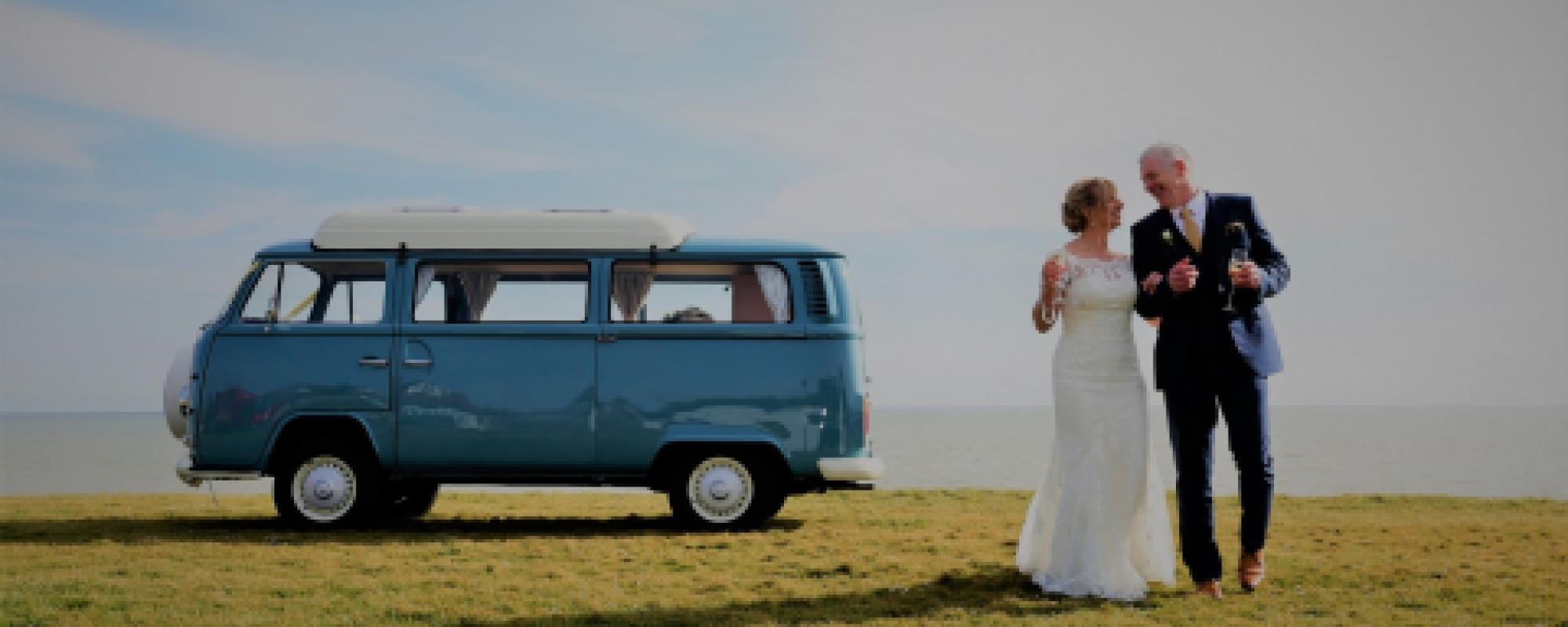 Guildford Wedding VW Campervan Hire