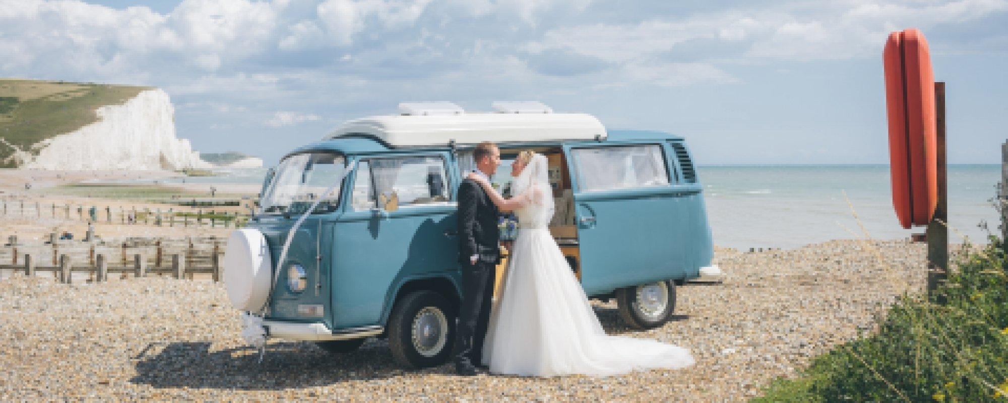 VW Campervan Wedding Hire